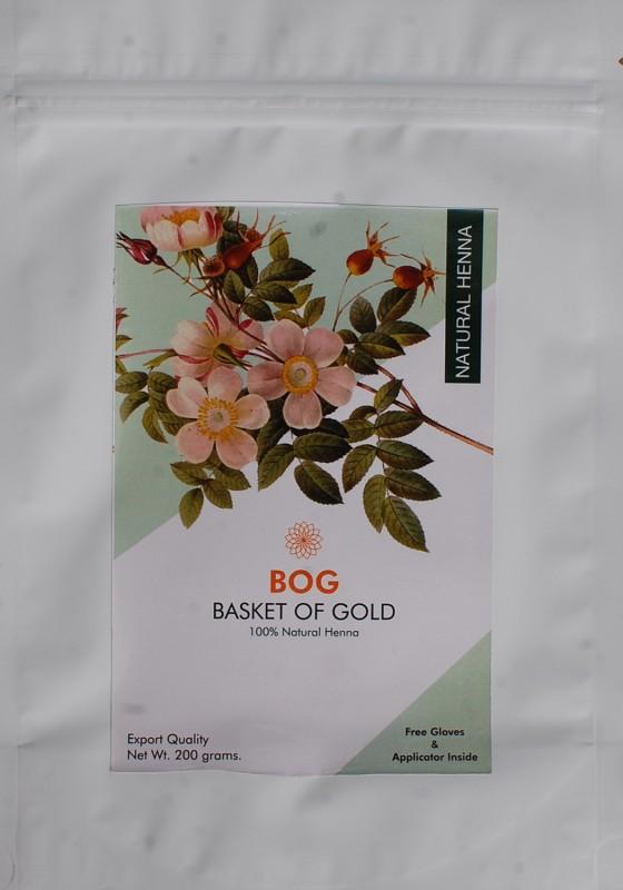 BOG Pure & Natural Herbal Henna powder Natural Mehendi(Pack of 1)