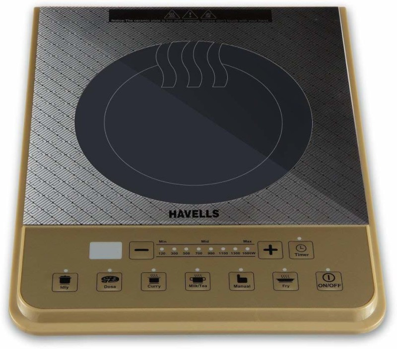 Havells Insta PT 1600 W Induction Cooktop(Multicolor, Touch Panel)