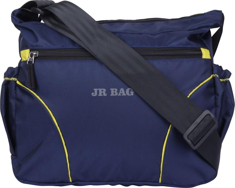 JR Bag Men & Women Blue Messenger Bag