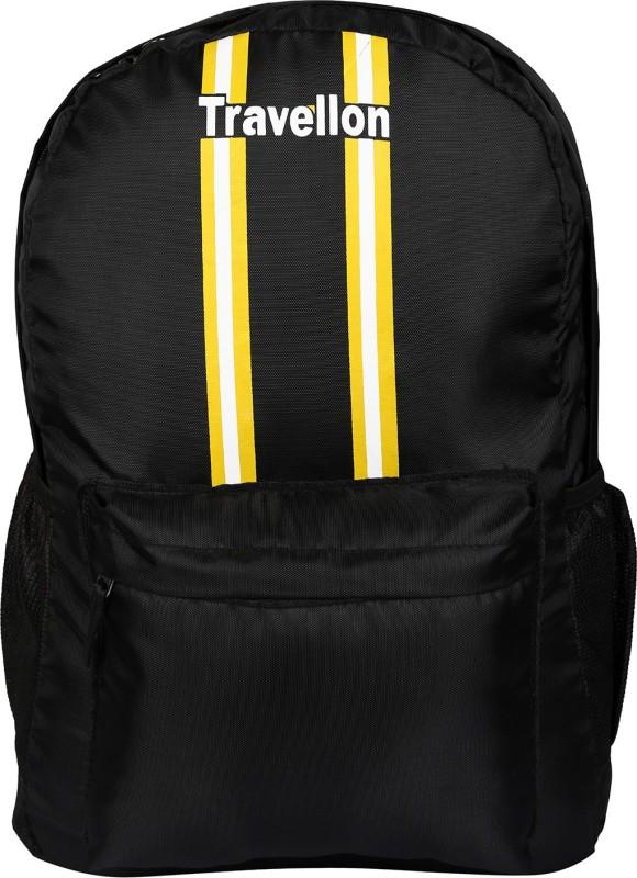 JR Bag 15 inch Inch Expandable Laptop Backpack(Black)