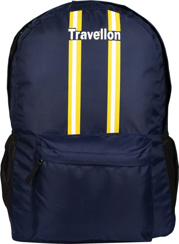 JR Bag 15 inch Inch Expandable Laptop Backpack(Blue)