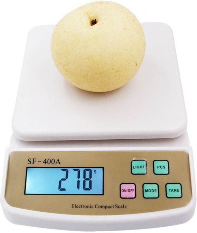 NIBBIN Sf-400a 10kg x 1g Digital Weighing Scale(White, off white)
