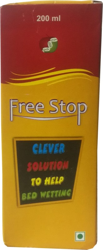 Friska Free Stop Bed-Wetting Control Drop, Clever Solution To Help Bed Wetting Fruity Flavored Syrup(200 ml)