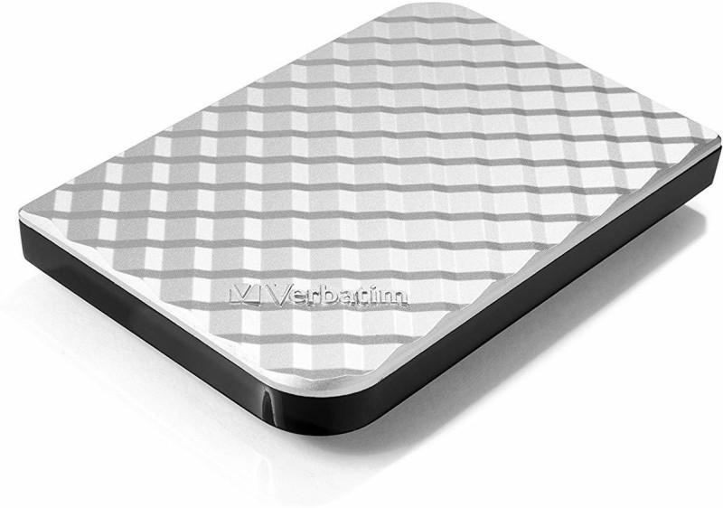 Verbatim 2 TB External Hard Disk Drive(Silver)