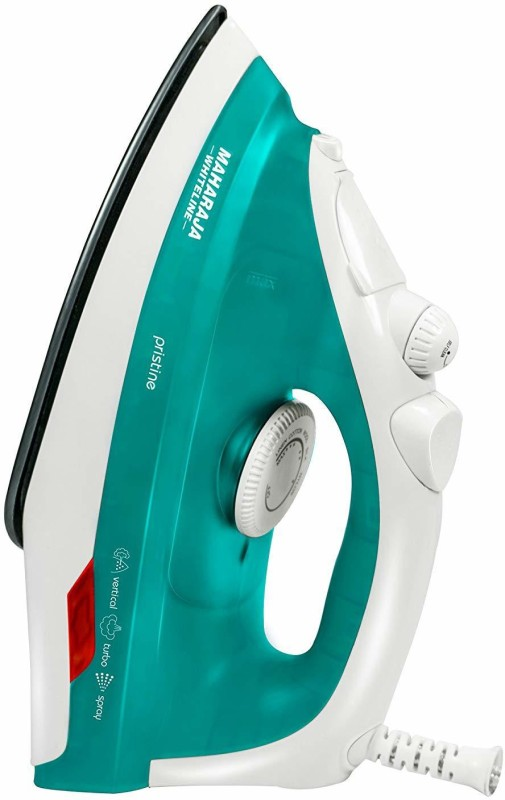 Maharaja Whiteline SI-103 1300 -Watts 1300 W Steam Iron(Green)