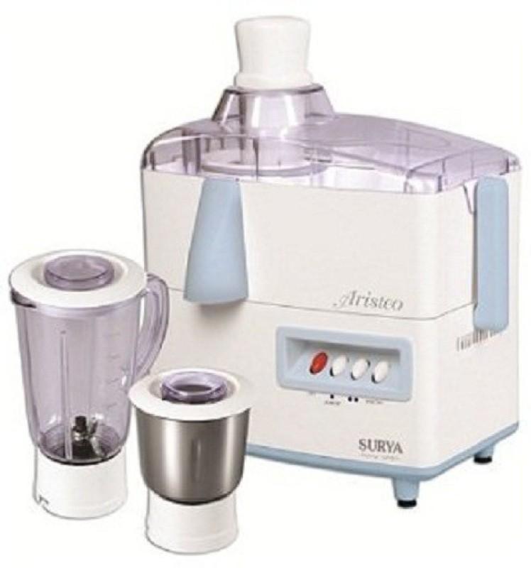 SURYA ROSHNI LIMITED 1 BJVTGF 550 Juicer Mixer Grinder(White, 3 Jars)