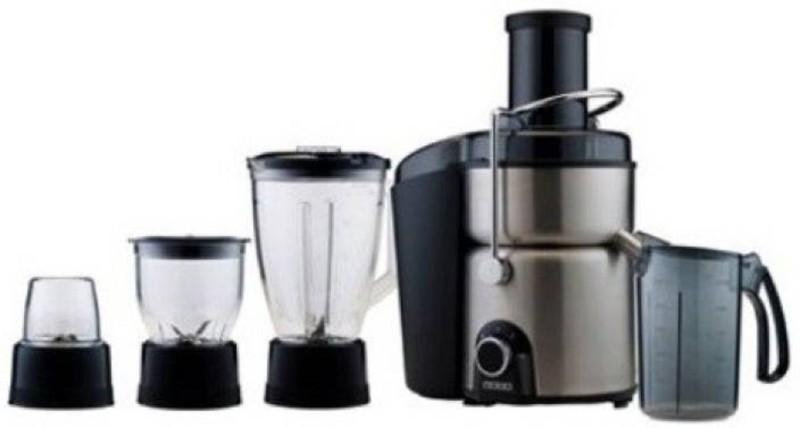 Usha ASH10 600 Mixer Grinder(Black, 3 Jars)