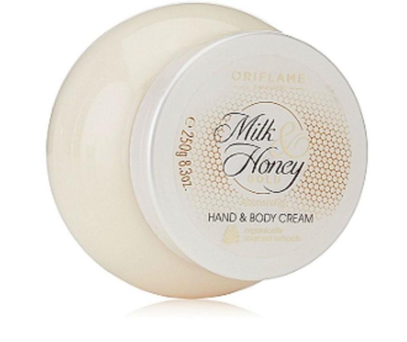 Oriflame Sweden Milk And Honey Gold Nourishing Hand And Body Cream(250 g)