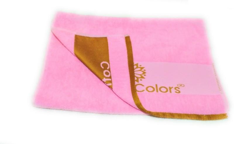 Cotton Colors Cotton Terry 450 GSM Bath Towel(Pink)