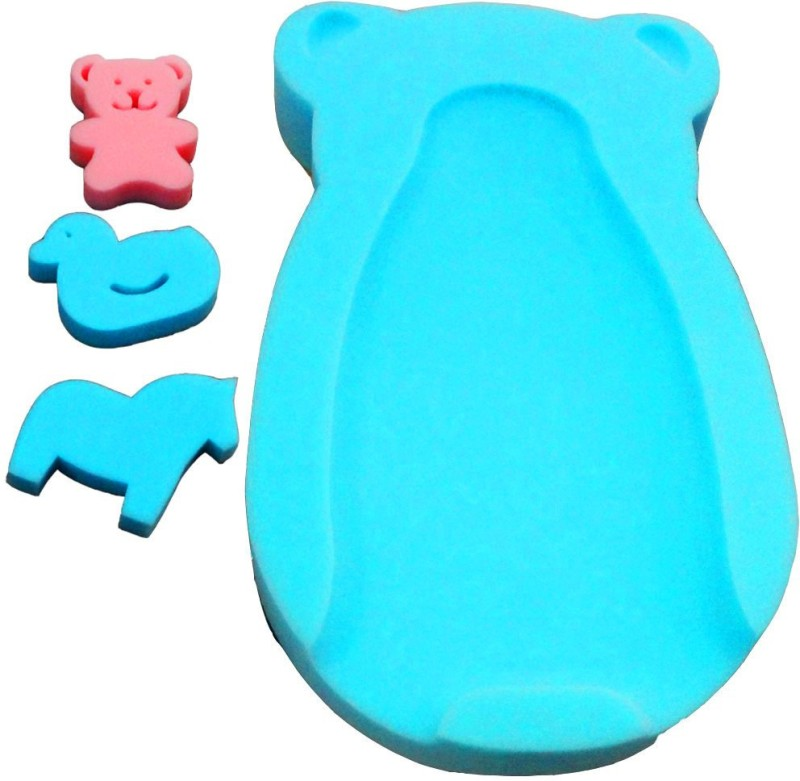 Muren baby bath sponge bed-Blue