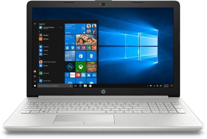 HP 15 Core i5 8th Gen - (8 GB/1 TB HDD/Windows 10) 15-da1041tu Laptop(15.6 inch, Silver, With MS Office)