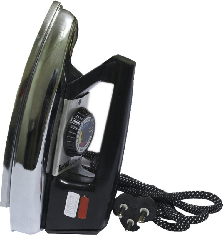 Deson Heavy Weight Iron Box 750 W Dry Iron(Black)