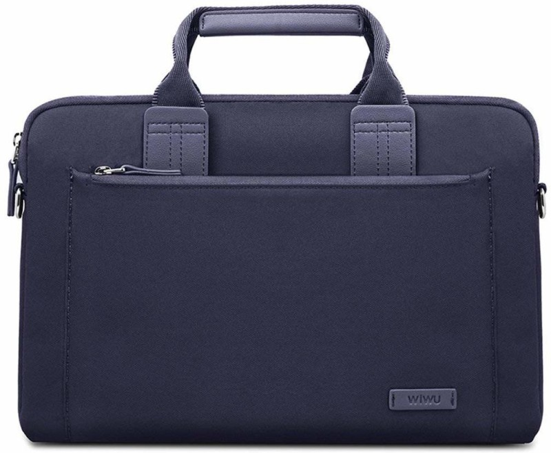 Wiwu 15.6 inch Laptop Messenger Bag(Blue)