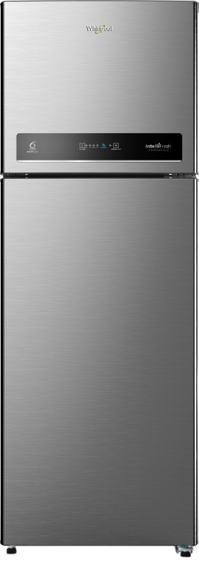 Whirlpool 440 L Frost Free Double Door 3 Star Convertible Refrigerator(Magnum Steel, IF INV CNV 455 ELT 3S)