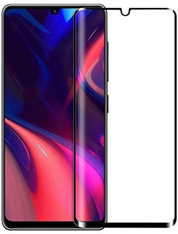 Kavacha Edge To Edge Tempered Glass for 3D Full Glue Huawei P30 Pro - Black(Pack of 1)