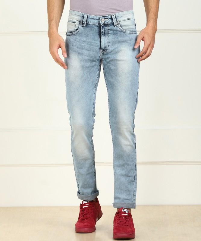 Spykar Slim Men Light Blue Jeans