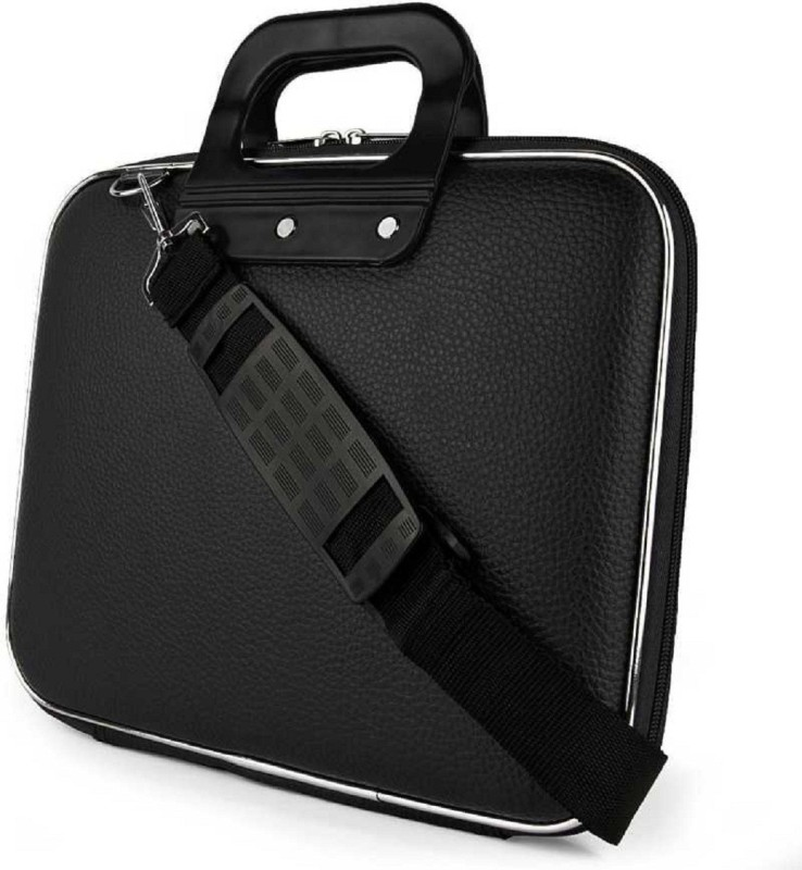 shivay 16 inch Laptop Tote Bag(Black)