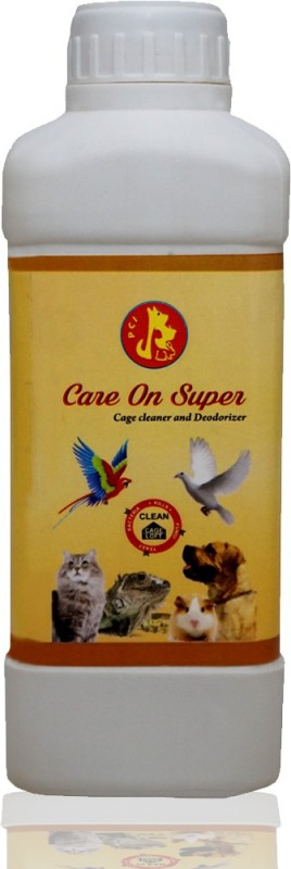 Pet Care International (PCI) Care on Super a Cage Cleaner, Disinfectant to Provide Healthy and Clean Cage to Birds, Dog, Cat, Hamster, Rabbit, Guinea Pig, Reptiles Pet Health Supplements(500 ml)