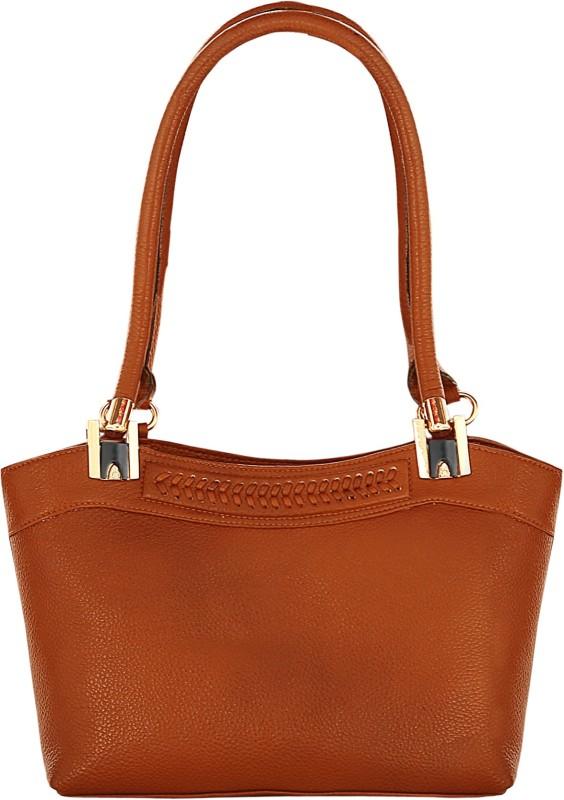 abeeza Women Tan Hand-held Bag