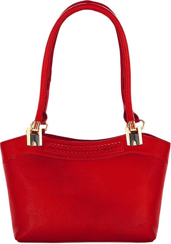 abeeza Women Red Hand-held Bag