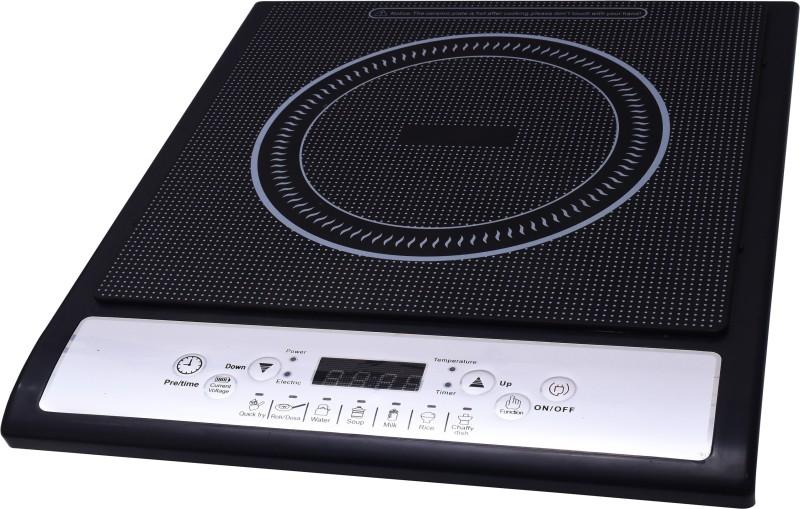 Homeleader Maxxi 1400-Watt Induction Cooktop(Black, Push Button)