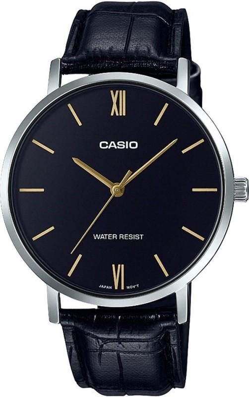 Casio A1615 Enticer Men's ( MTP-VT01L-1BUDF ) Analog Watch - For Men