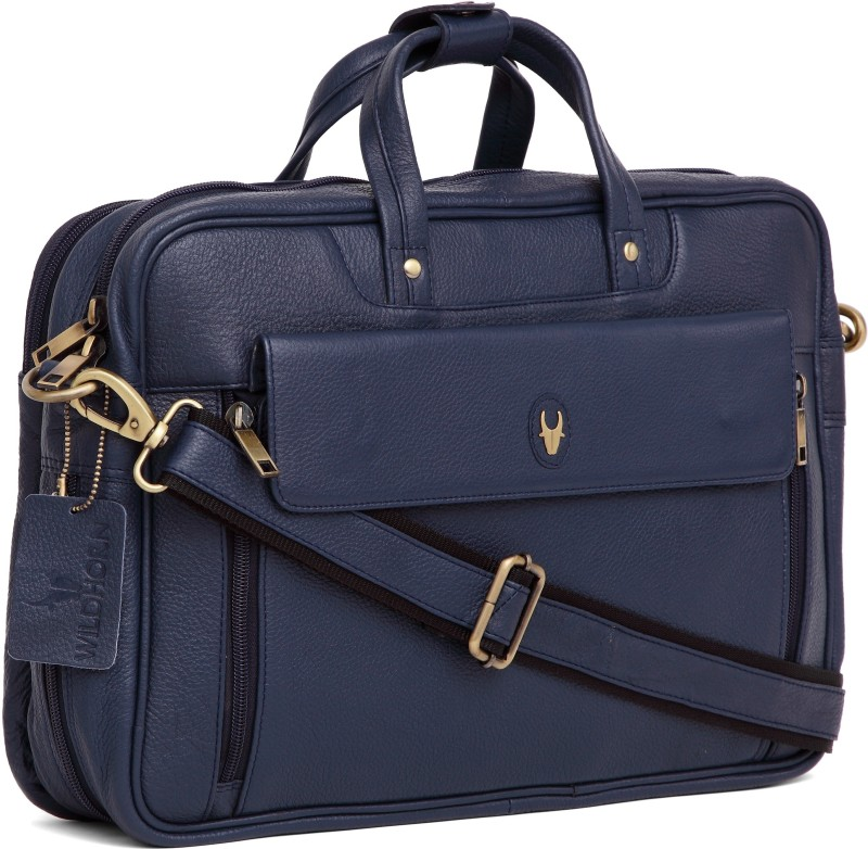 WildHorn 15 inch Laptop Messenger Bag(Blue)
