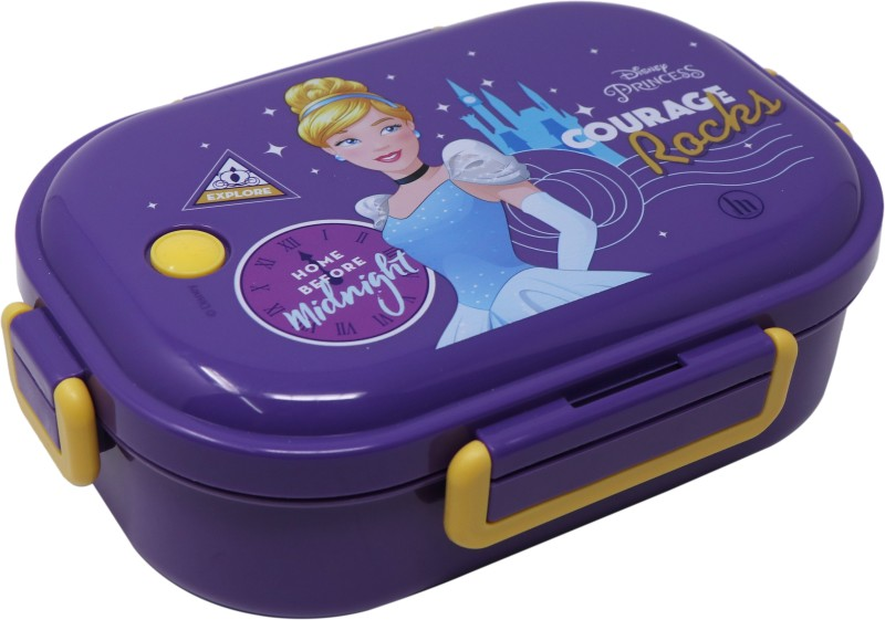 Disney GENUINE LICENSED CINDERELLA INSIDE 304 - HMSHLB 72270-CIN 1 Containers Lunch Box(650 ml)