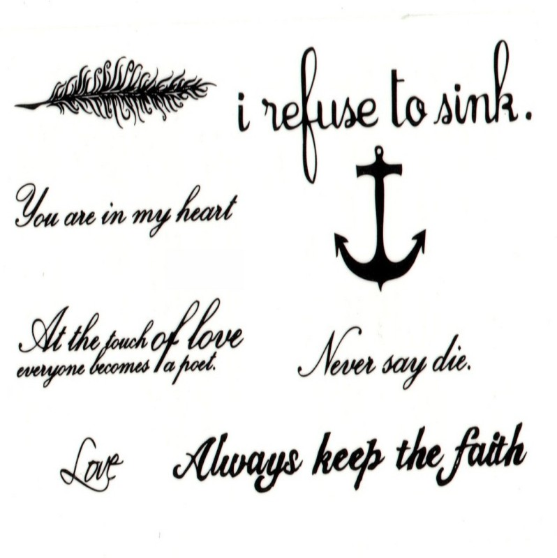 TattooStore.IN 7447508646607(Sexy Beautiful Mix Shape & Colour Design Body Art Temporary Waterproof Tattoo Stickers)