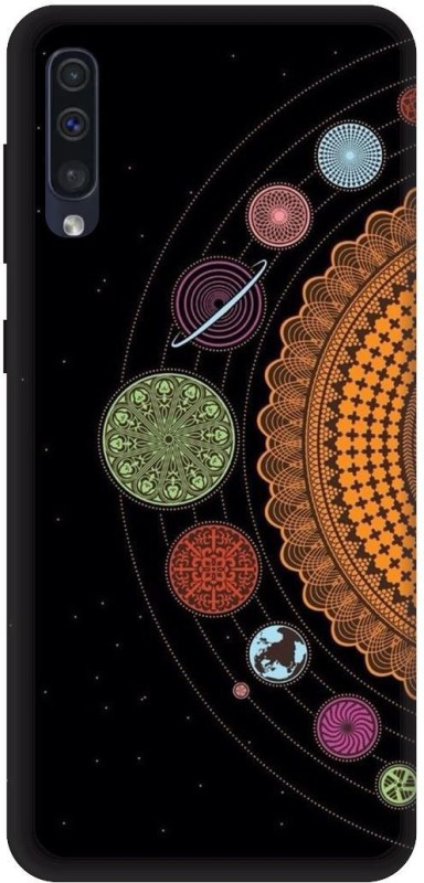 Umprint Back Cover For Samsung Galaxy A50 Black Mandala Design Space Wallpaper Waterproof Buy Online In Costa Rica Umprint Products In Costa Rica See Prices Reviews And Free Delivery Over 40 000 Desertcart