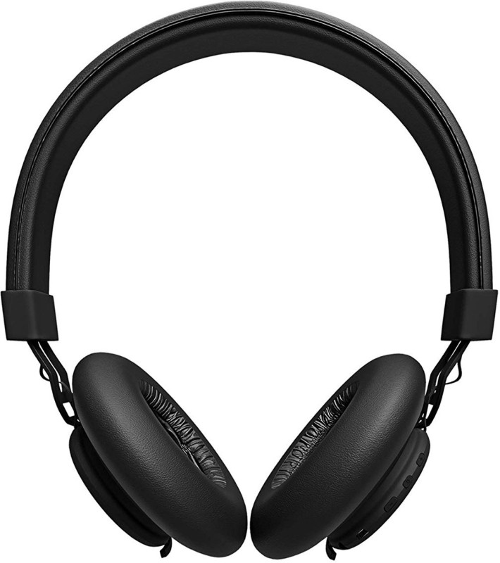 "Toreto Thunder PRO""Black On Ear Bluetooth Headphones with Extra Bass Bluetooth Headset with Mic(Black, Over the Ear)"
