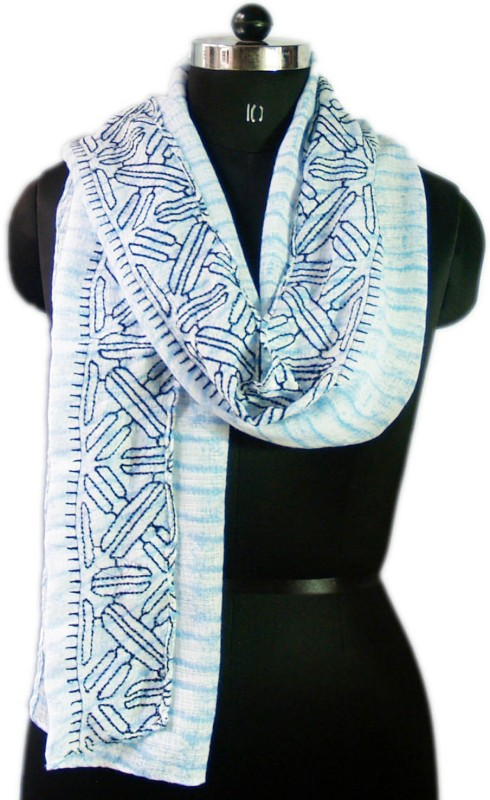 VR Designers Embroidered Polycotton Women Stole