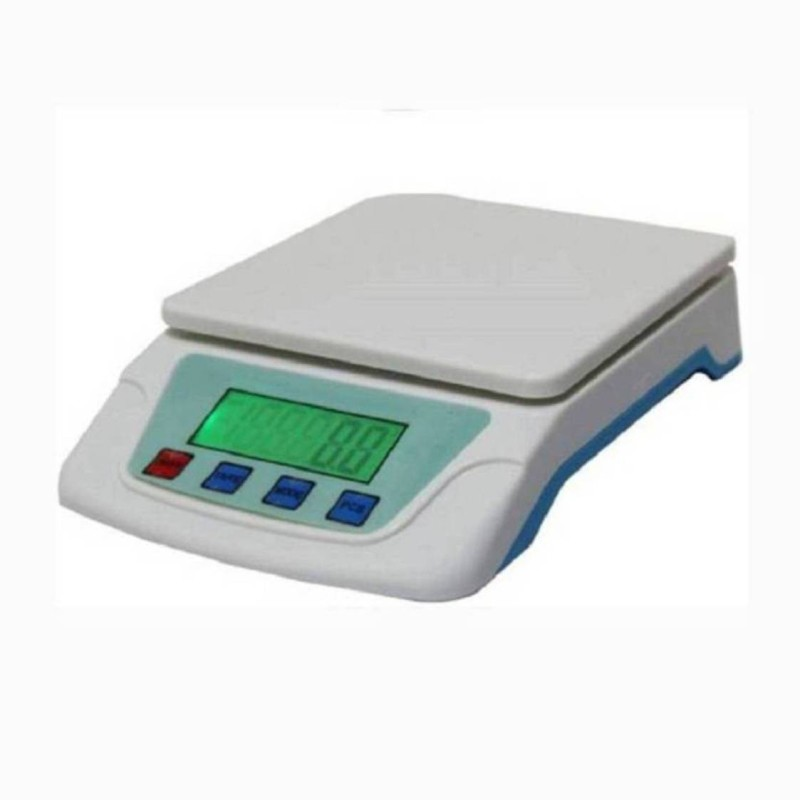 NIBBIN New Digital Electronic TS 200V 7Kg Kitchen Weighing Scale Weighing Scale(White)