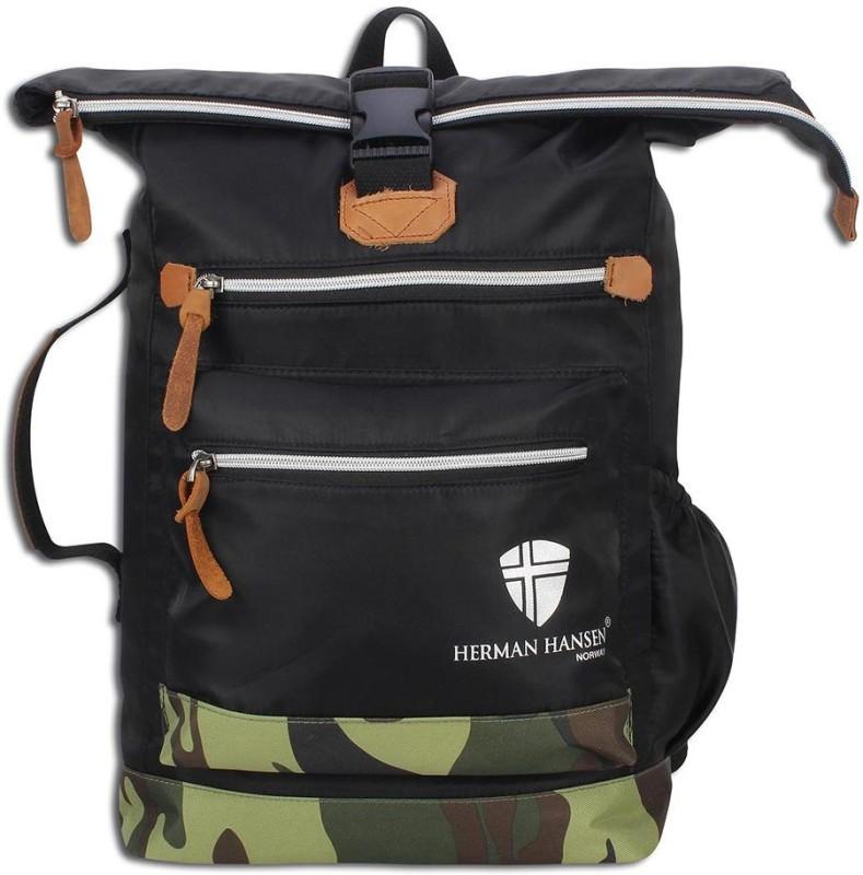Herman Hansen 4446 27 L Backpack(Black)