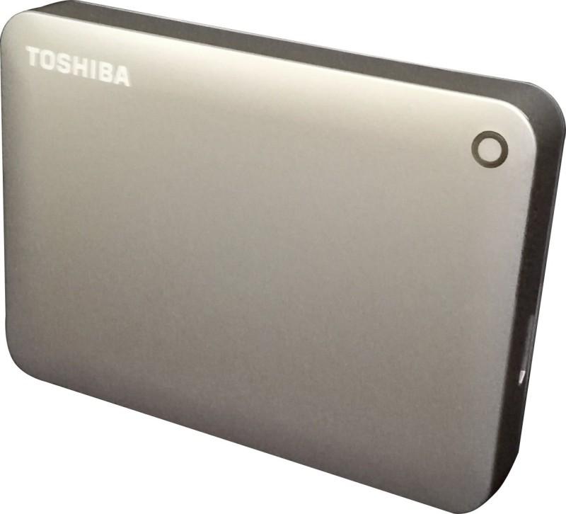 Toshiba Canvio Connect II, USB 3.0 2 TB Wired External Hard Disk Drive(Satin Gold)