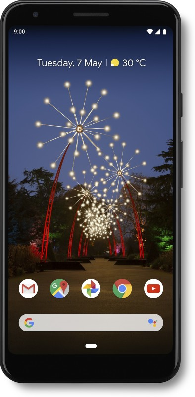Google Pixel 3A XL (Just Black, 64 GB)(4 GB RAM)