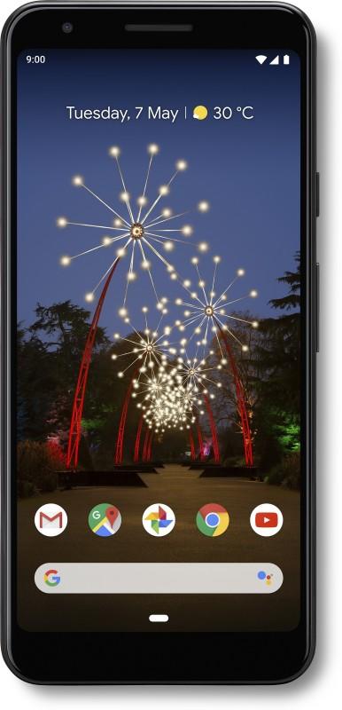 Google Pixel 3a (Just Black, 64 GB)(4 GB RAM)