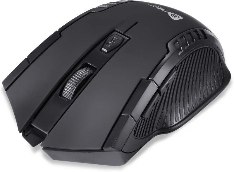 Enter 2.4 ghz Wireless Optical Mouse 1600 DPI with 6 Button E-W65 Wireless Optical Gaming Mouse(2.4GHz Wireless, Black)