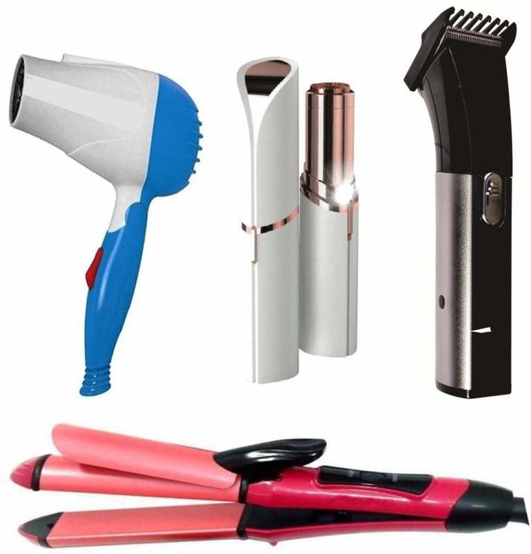 Arzet Combo Of Professional Hair Dryer Straightener With Hair