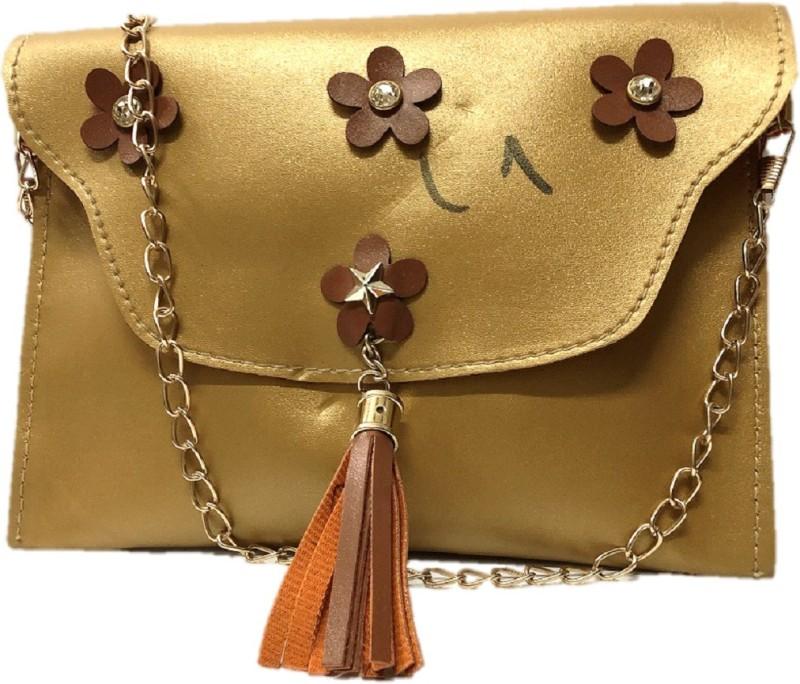 HIGH-CHOICE Gold Sling Bag