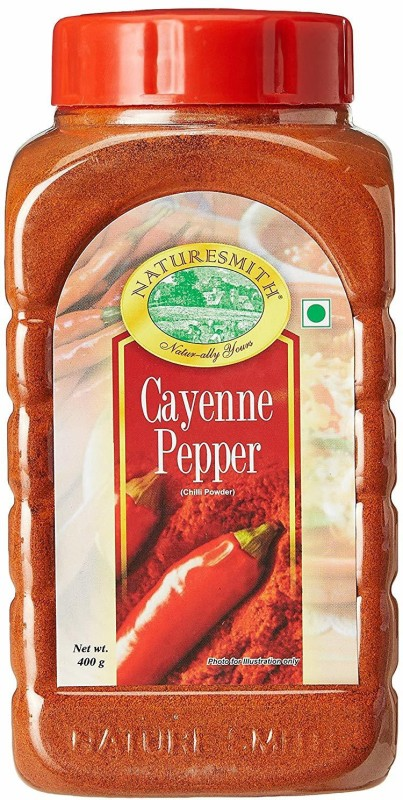nature smith Cayenne Pepper, 400gm(400 g)