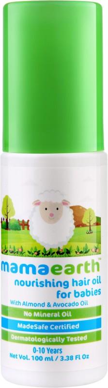 Mamaearth Nourishing Hair Oil for Babies(100 ml)