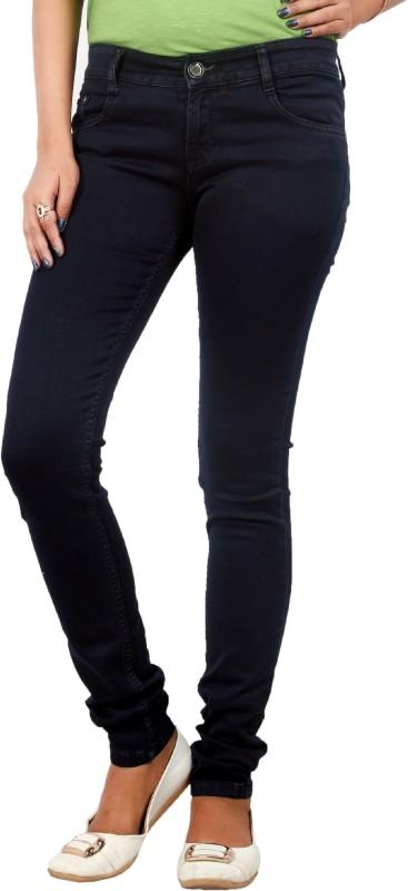 Obeo Slim Women Dark Blue Jeans