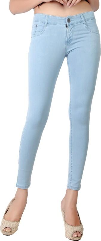 Obeo Slim Women Light Blue Jeans