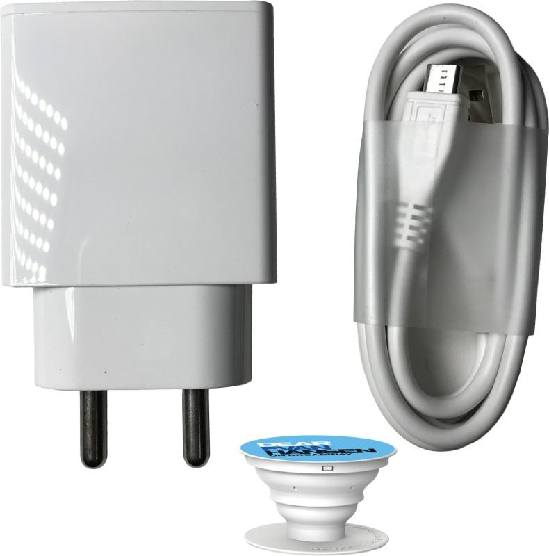 Delmohut Wall Charger Accessory Combo for Vivo V5s/Vivo Y66/Vivo Y53/Vivo Y55s/Vivo V5/Vivo V5 Plus/Vivo V5 Plus IPL Edition/Vivo Y21L/Vivo Y51L/Vivo V7 Plus/Vivo Y21/Vivo V7/Vivo Y69/Vivo Y55L/Vivo V3 Max/Vivo X5 Pro/Vivo Y15/Vivo V3 USB Cable Original Like Data Cable | Micro USB Fast Charging Cabl