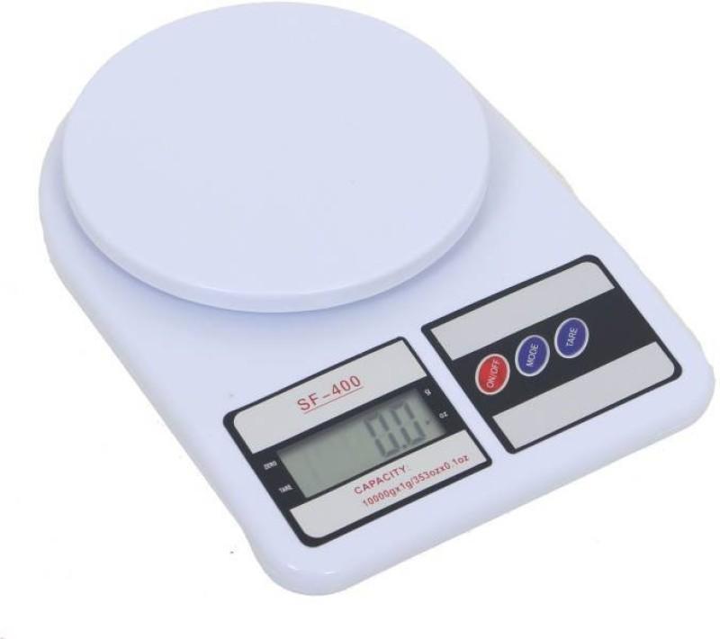 ZIORK Weight Measure Spices Vegetable Liquids- SF-400 Weighing Scale (White) Weighing Scale(White)