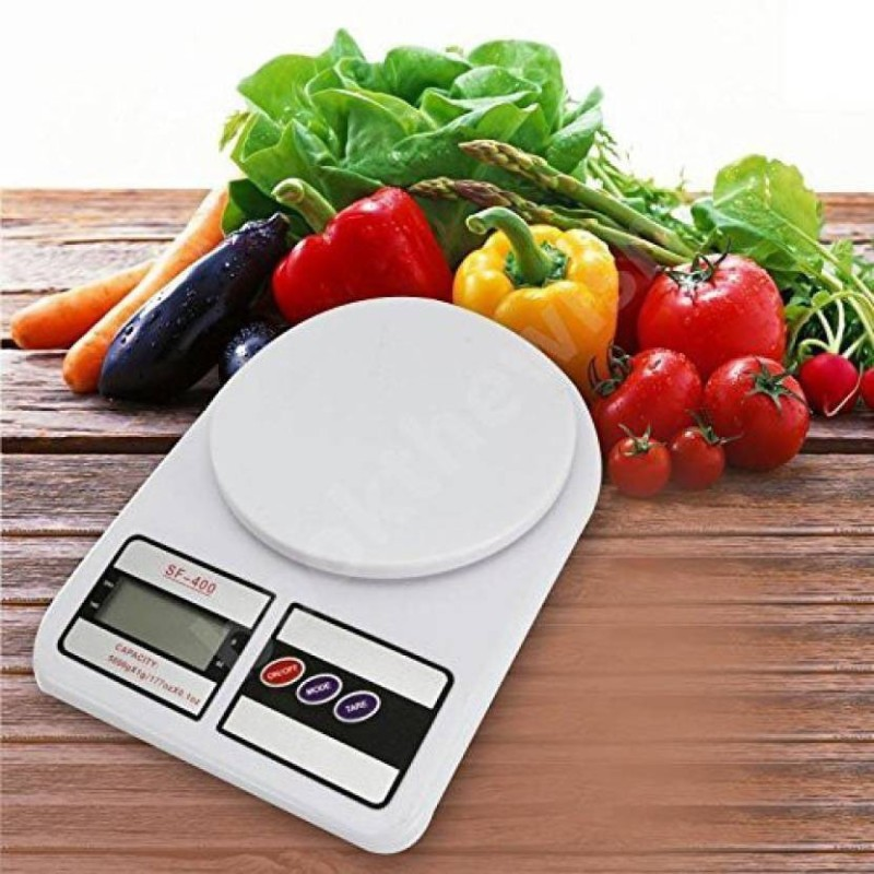 ZIORK New Digital SF 400 10kg Electronic Gadget Weighing Scale(White)