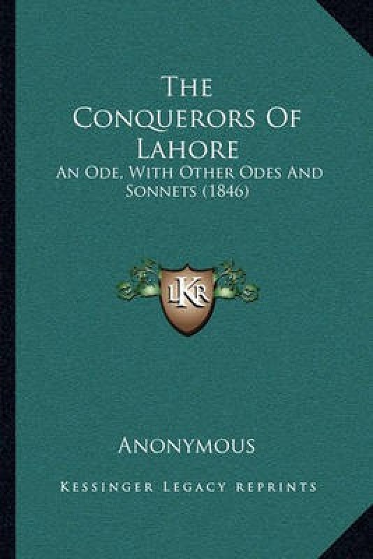 The Conquerors of Lahore(English, Paperback, Anonymous)