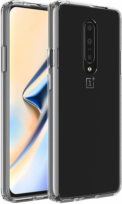 Karpine Back Cover for OnePlus 7(Transparent, Shock Proof)