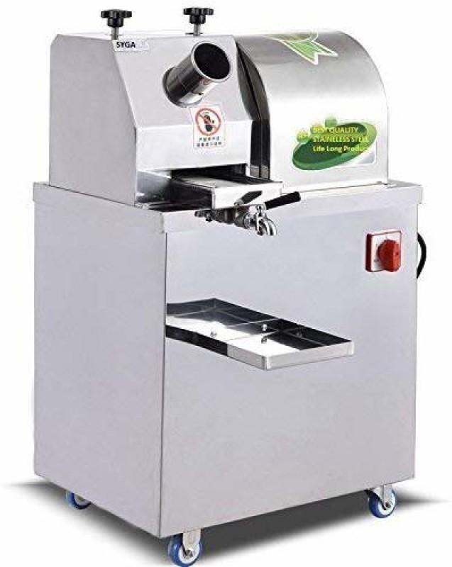 SYGA Sugarcane Machine Sugarcane Juice Machine 1100 Juicer(Silver)